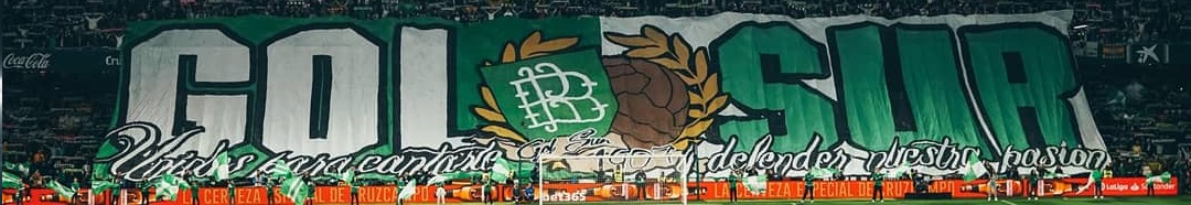 MAKING OFF TIFO REAL BETIS-BARCELONA